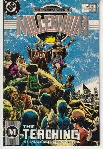 Millennium # 5   Human Evolution comes to the DC Universe