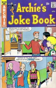 Archie's Joke Book Magazine #209, Fine+ (Stock photo)