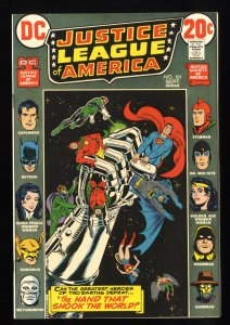Justice League Of America #101 VF/NM 9.0 White Pages DC Comics