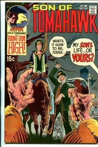 Tomahawk #131 1970-DC-Joe Kubert-Frank Frazetta-hanging cover-VF+
