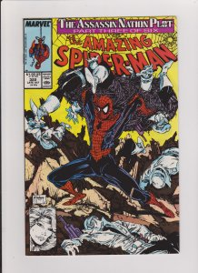 the AMAZING SPIDER-MAN #322 NM UNREAD 1989 MARVEL TODD McFARLANE  ART