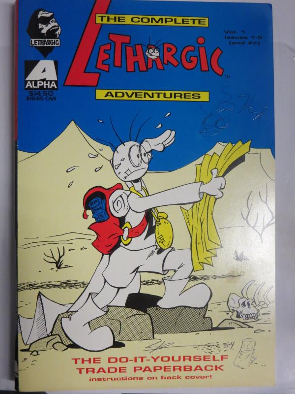 Lethargic lad comics alpha 1994 1 6 with cover signed by greg lethargic lad comics alpha 1994 1 6 with cover signed by greg solutioingenieria Image collections