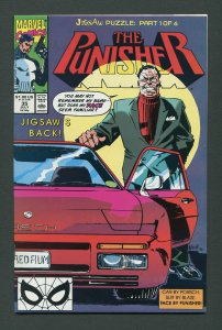 Punisher #35 / 9.4 NM  Jigsaw  Part One  July 1990