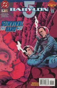 Babylon 5 #7 VF/NM; DC | save on shipping - details inside