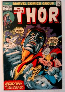 Thor #220 Marvel 1974 FN/VF Bronze Age Comic Book 1st Print