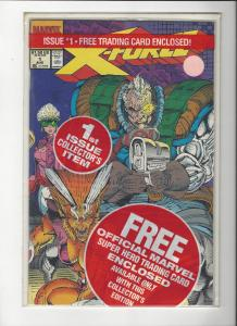X-Force #1 Polybagged With Deadpool Card NM Rare
