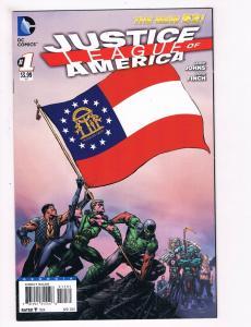 Justice League Of America # 1 NM 1st Print Georgia Variant DC Comic Book S66