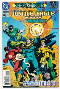 Justice League America (1987) #92 NM