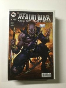 Realm War Age of Darkness 6 Variant Near Mint Zenescope HPA