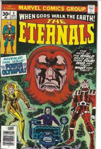 THE ETERNALS #5 AND #6 $10.00