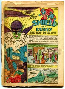 Pep Comics #13 1941- COVERLESS- Shield- Comet- MLJ golden age