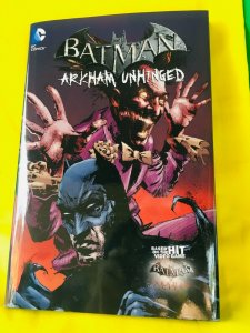 Batman: Arkham Unhinged Volume 3 Hardcover Graphic Novel