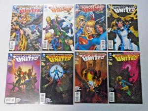 Justice League United lot #2-16 missing #1 & #13 8.0/VF (2004)