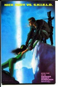 Nick Fury vs. S.H.I.E.L.D.-Book 5-Bob Harras-TPB-trade
