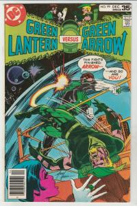 Green Lantern #99 (Dec-77) NM- High-Grade Green Lantern, Green Arrow, Black C...
