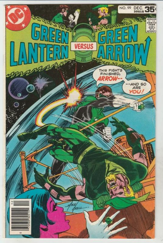 Green Lantern #99 (Dec-77) NM- High-Grade Green Lantern, Green Arrow, Black C...