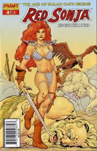 Red Sonja (Dynamite) #18B VF/NM; Dynamite | save on shipping - details inside