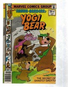 Yogi Bear # 1 FN Marvel Comic Book Hanna-Barbera Ghastly Grotto Cartoon TV RB27