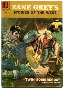 Zane Grey's Stories of the West #35 1957- Dell Western- G/VG