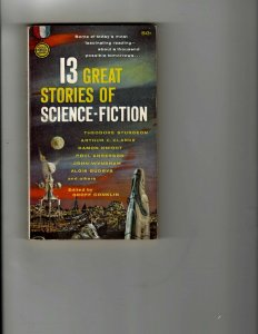 3 Books 13 Great Stories of SciFi The Utopia Affair The Mind-Twister Affair JK18