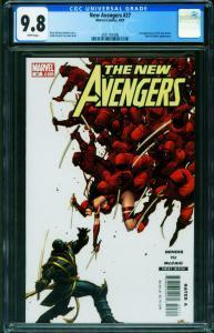 New Avengers #27 CGC 9.8-1st appearance RONIN 2021161006