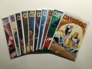 Copperhead 1-15 17 18 Lot Run Set Near Mint Missing 16 Image