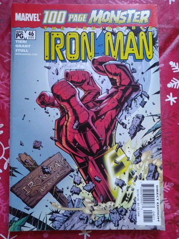 Invincible Iron Man #46 (Marvel Nov 2001) 100 page Monster