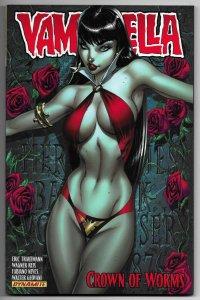 Vampirella TPB Vol 01 Crown Of Worms (Dynamite, 2011) New!