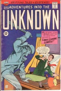 ADVENTURES INTO THE UNKNOWN 170 VG COMICS BOOK