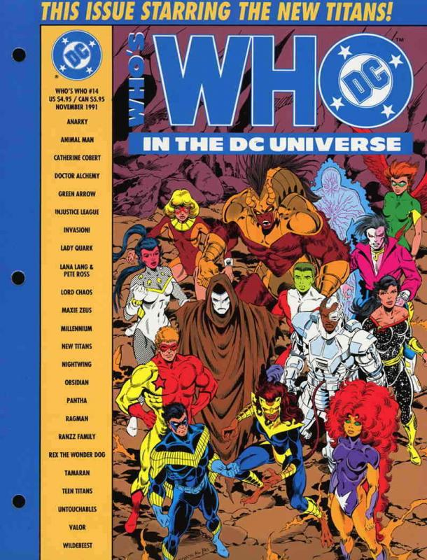 Who's Who in the DC Universe #14 VF/NM; DC | save on shipping - details inside