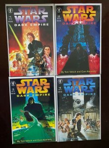Star Wars Dark Empire Set #1-4 (1992) VF 8.0