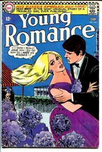 YOUNG ROMANCE #144 1966-DC ROMANCE-PARTY SCENE VG