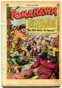 Tomahawk #2 1950- Frazetta Art- Western- Reading Copy
