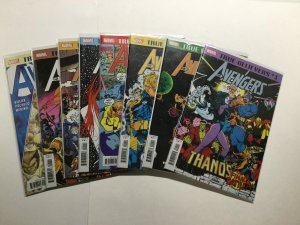 Marvel True Believers Thanos Infinity Gauntlet 8 Issue Avengers Lot  Near Mint