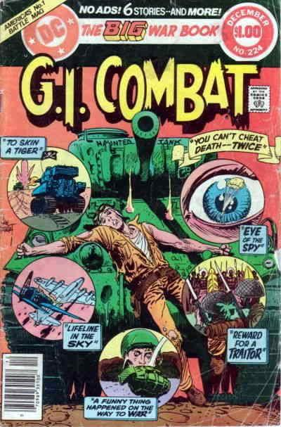G.I. Combat #224 FN; DC | save on shipping - details inside