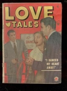 LOVE TALES #37 1949-MARVEL-DIME A DANCE GRLS-FASHIONS   G