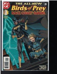Birds of Prey: Black Canary / Batgirl #1 (DC, 1998)