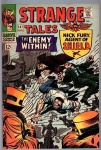 STRANGE TALES #147-NICK FURY/DOCTOR STRANGE-FN minus FN-