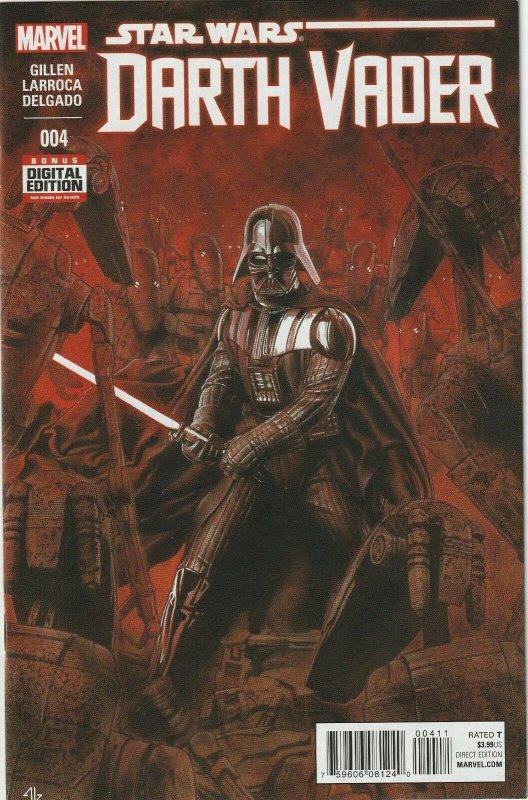 Star Wars Darth Vader 4 Cover A Nm Marvel 2015 Hipcomic