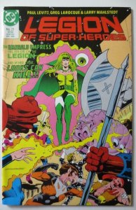 LEGION OF SUPER HEROES #21, NM-, DC, 1984 1986 more DC in store