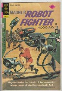 Magnus Robot Fighter #37 (Nov-74) VF/NM High-Grade Magnus