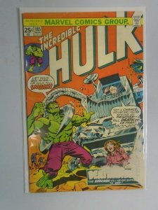 Incredible Hulk #185 2.5 GD+ (1975 1st Series)