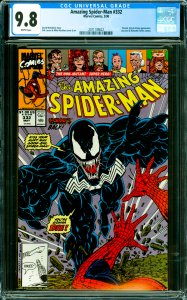 Amazing Spider-Man #332 CGC Graded 9.8 Venom, Styx & Stone appearance. Jay Le...