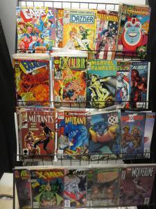 Kochcomics X-MEN Spinoff Titles Lot of 160 WYSIWYG New Mutants etc 1980s-00s SWB