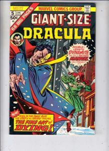 Giant-Size Dracula #5 (Jun-75) VF/NM+ High-Grade Dracula