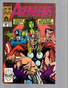 12 Comics The Avengers #308 309 310 311 312 313 314 315 316 317 318 319 J420