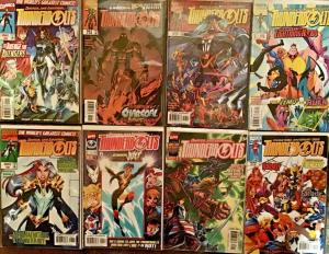 THUNDERBOLTS 1997 (MARVEL) #1,4,8,9,12,16,17,19 NM CONDITION 8 BOOK LOT