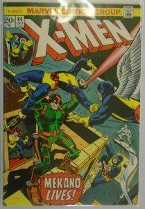 X-Men #84 - 3.5 VG- - 1973