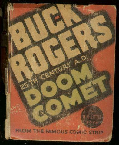 BUCK ROGERS #1178-BIG LITTLE BOOK-DOOM COMET  1935 G
