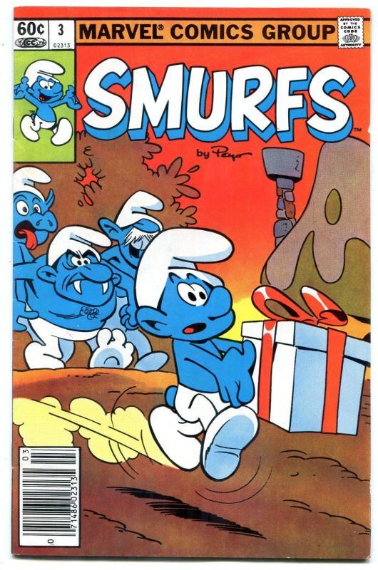 Smurfs #3 1982- Marvel Comics FN
